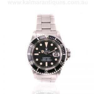 Vintage Rolex Submariner 1680 dating from 1978