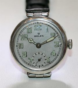 Sterling Silver Rolex