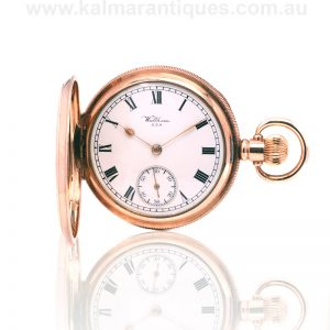 gents antique Waltham pocket watch made in 1917