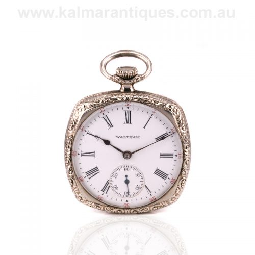 Gents Art Deco era Waltham pocket watch made in 1924