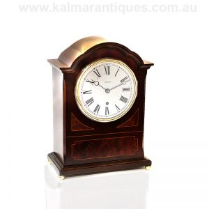 Extremely high grade antique Zenith time and strike single key clock