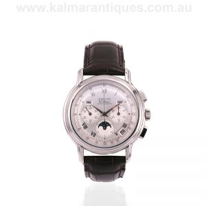 Zenith El Primero Chronomaster 14/01.0240.410 with box and papers