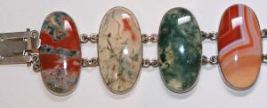 Wonderful agate bracelet