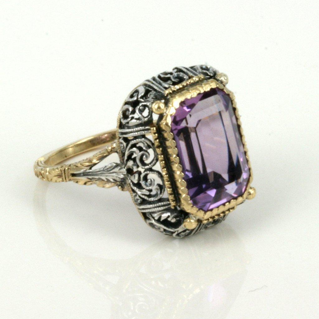 Buy Sensational Antique Amethyst Ring Sold Items Sold