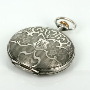 Silver pocket watch by Corgemont circa 1920