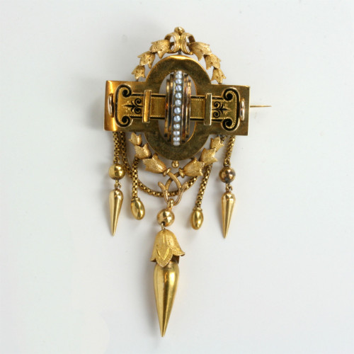 Antique brooch from Sweden.