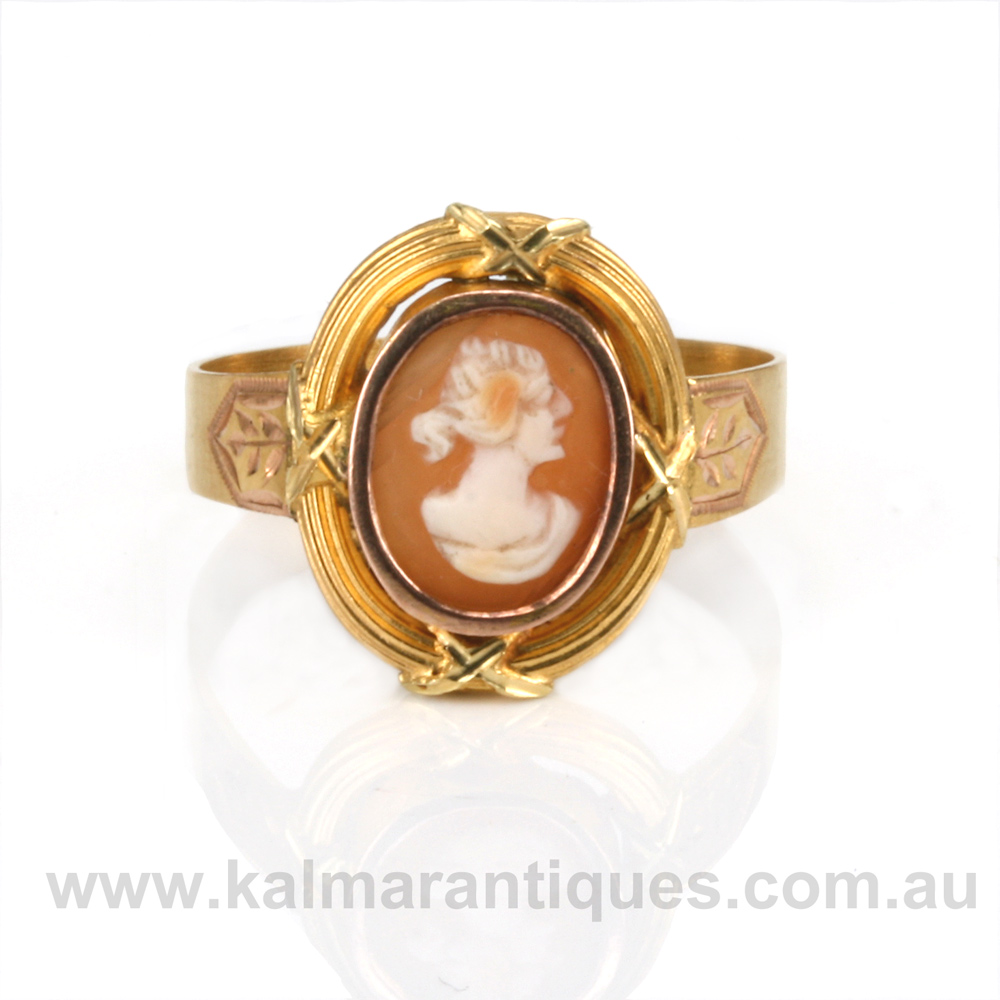 Antique cameo ring aloadofball Gallery