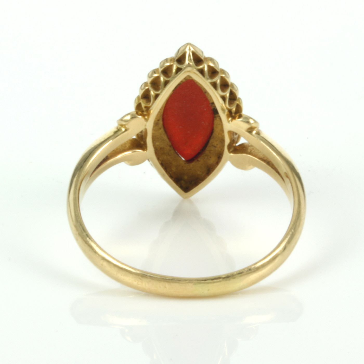 buy antique hardstone cameo and pearl ring made in 1903