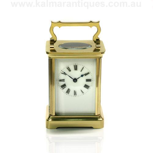 Duverdrey and Bloquel carriage clock
