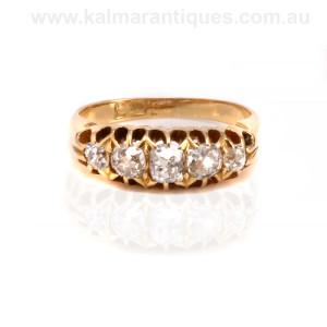 Antique diamond engagement ring Sydney