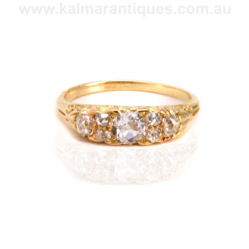 Antique diamond engagement ring Sydney