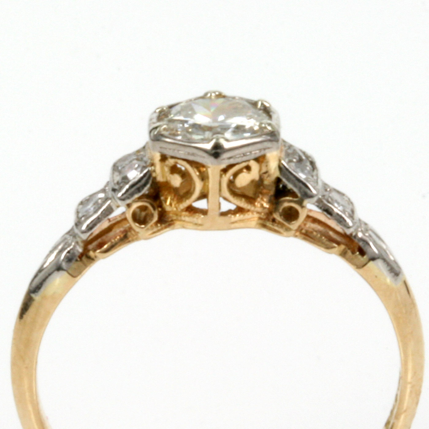 band added yellow revitalized story wide jewelry rings later and marnies antique weisman from gold ring grandma great white with repair diamond pretty wedding