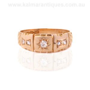 Antique diamond ring Sydney