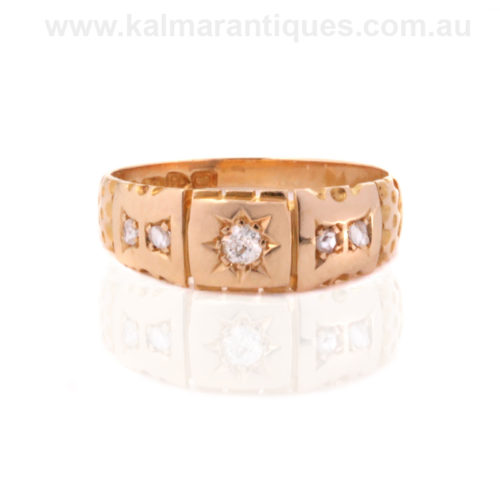 Antique diamond ring Sydney