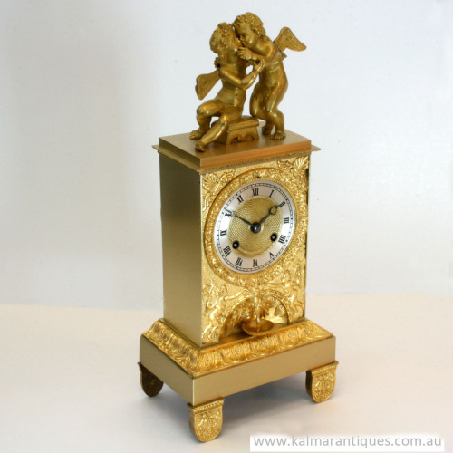 Antique clock by Bechot circa 1840