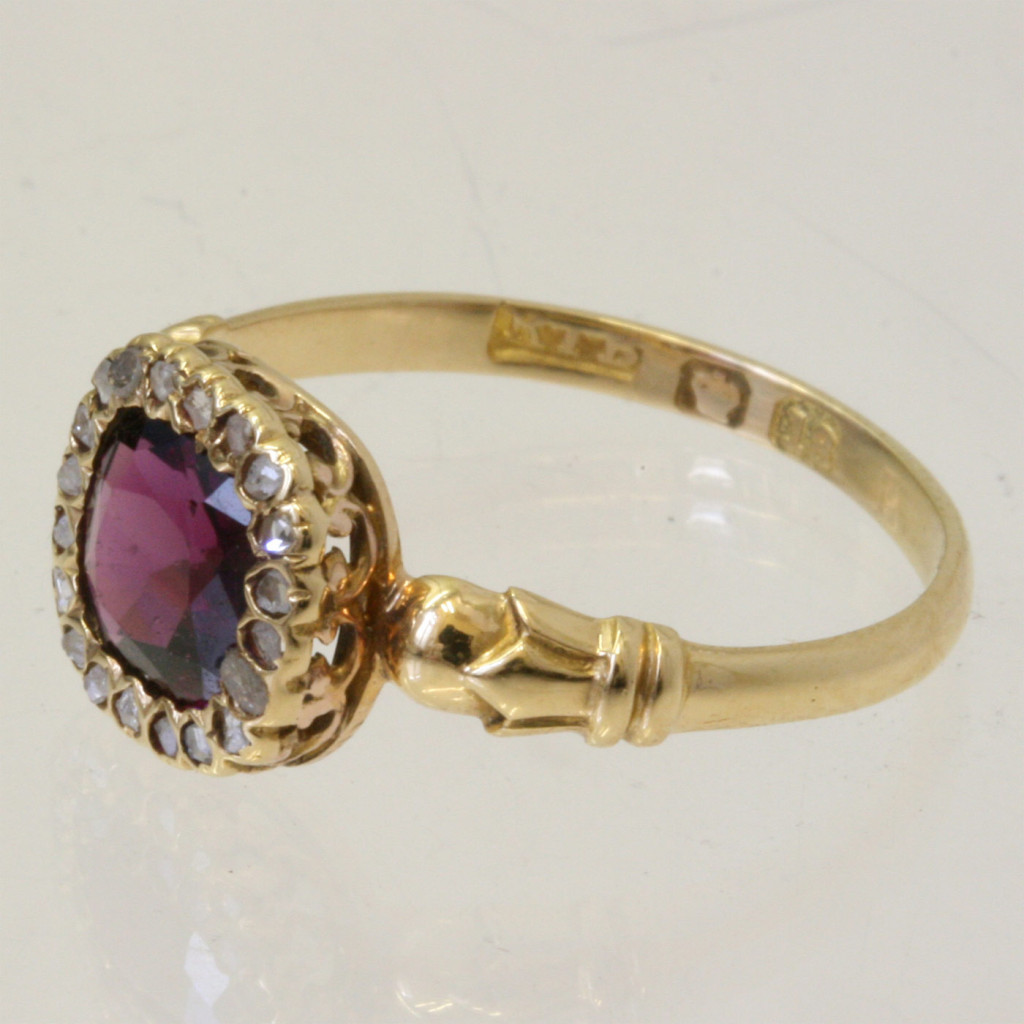 buy early garnet ring sold items sold rings
