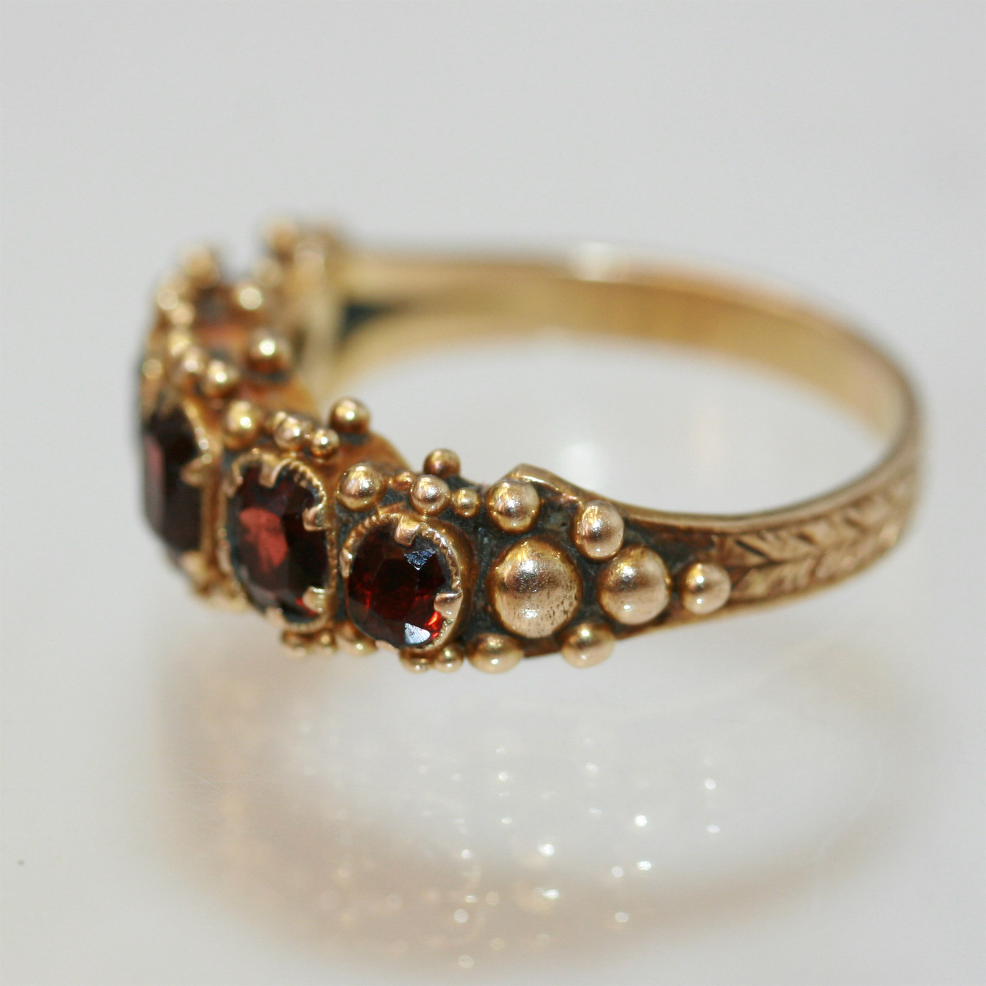buy early victorian garnet ring sold items sold rings