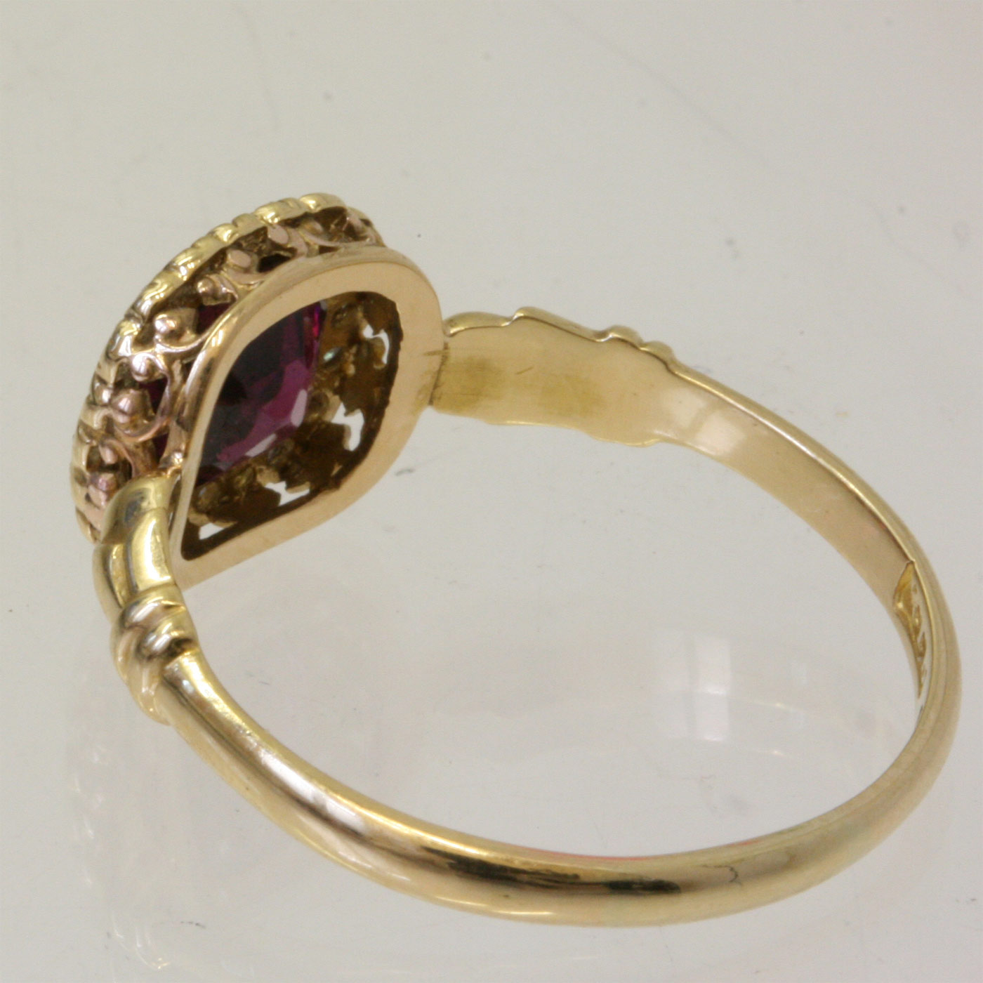 buy antique garnet and diamond ring sold items sold rings