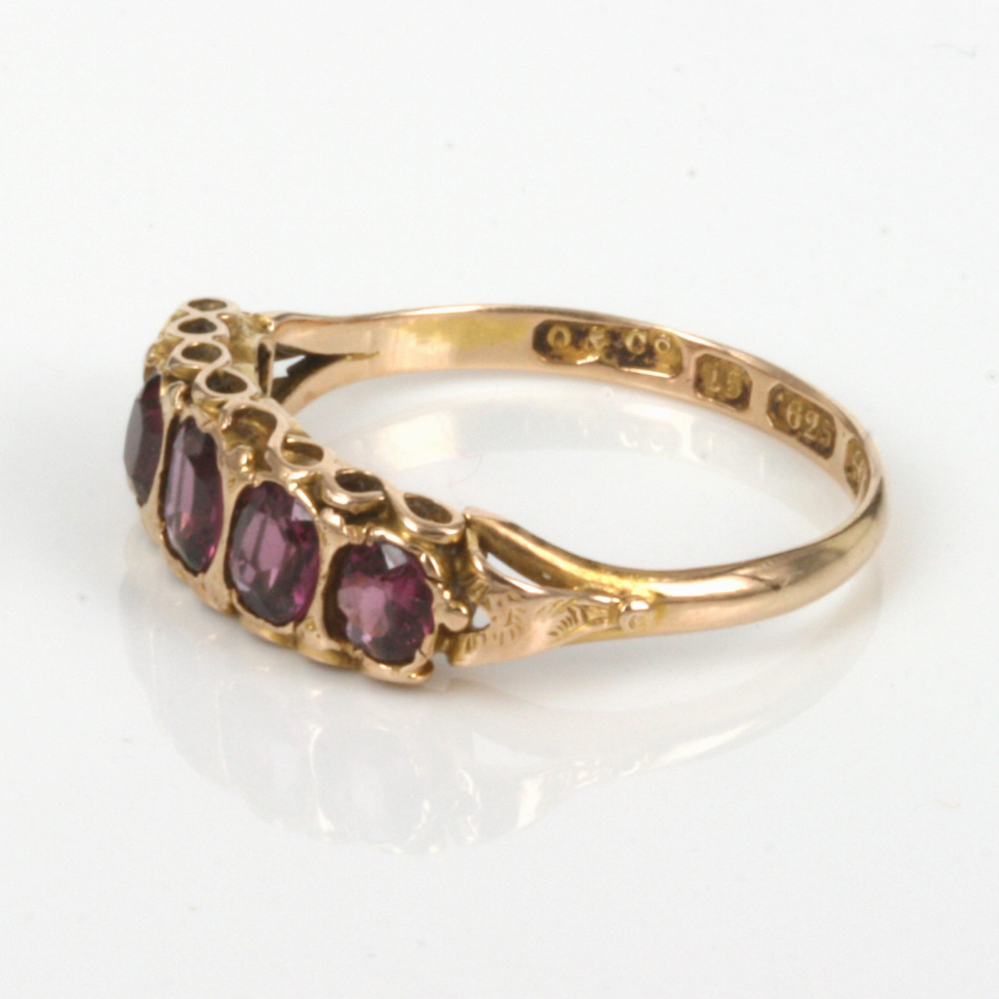 buy 15ct antique garnet ring made in 1899 sold items sold
