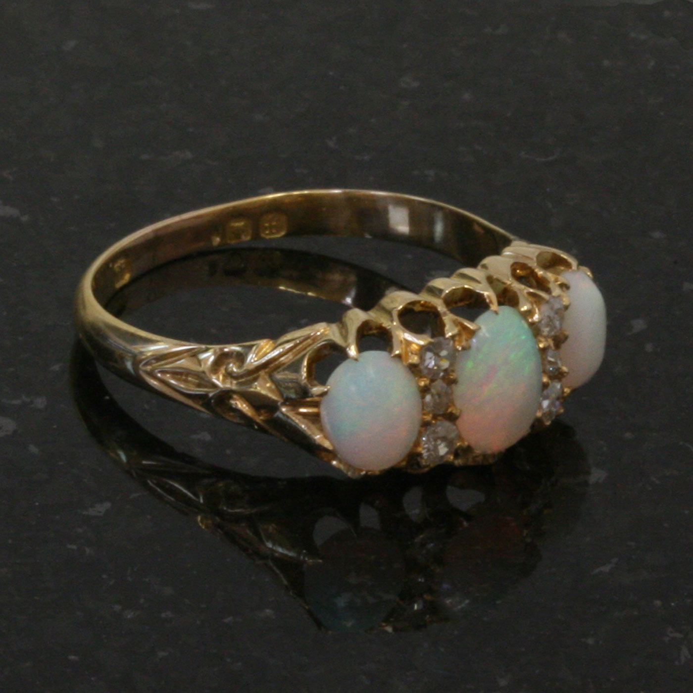buy edwardian antique opal and ring sold items