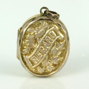 Antique REGARD locket.