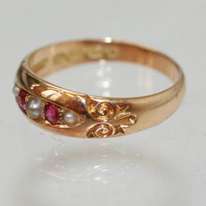 Victorian antique ring.
