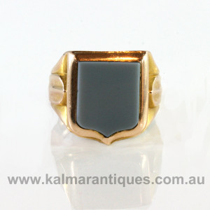 Antique signet ring