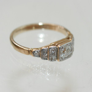 Art Deco diamond ring.