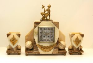 French Art Deco clock from the 1920's.