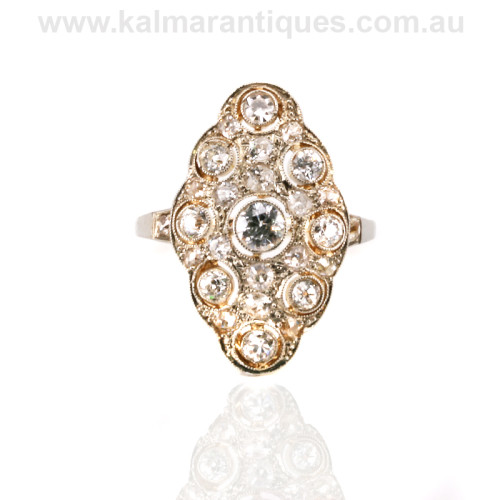 Art Deco diamond ring Sydney