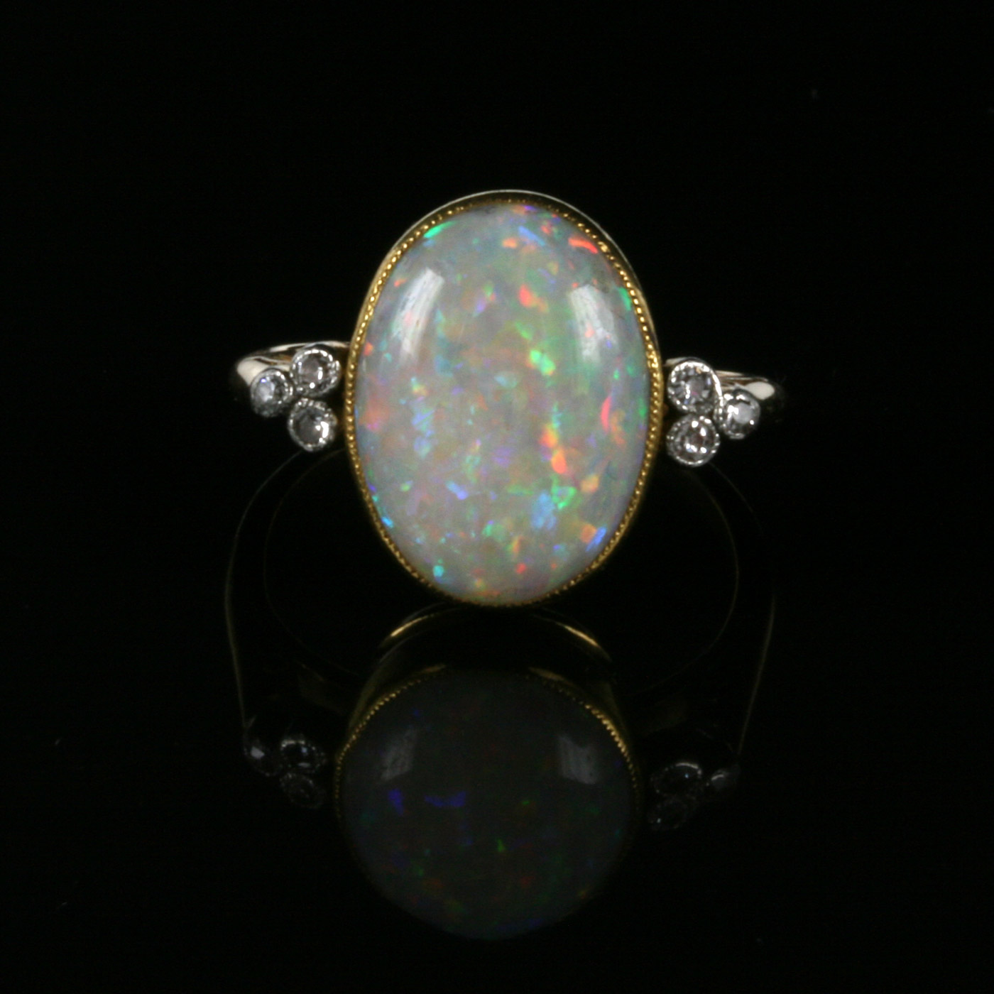 deco opal ring buy deco opal and ring from the 1920 s sold