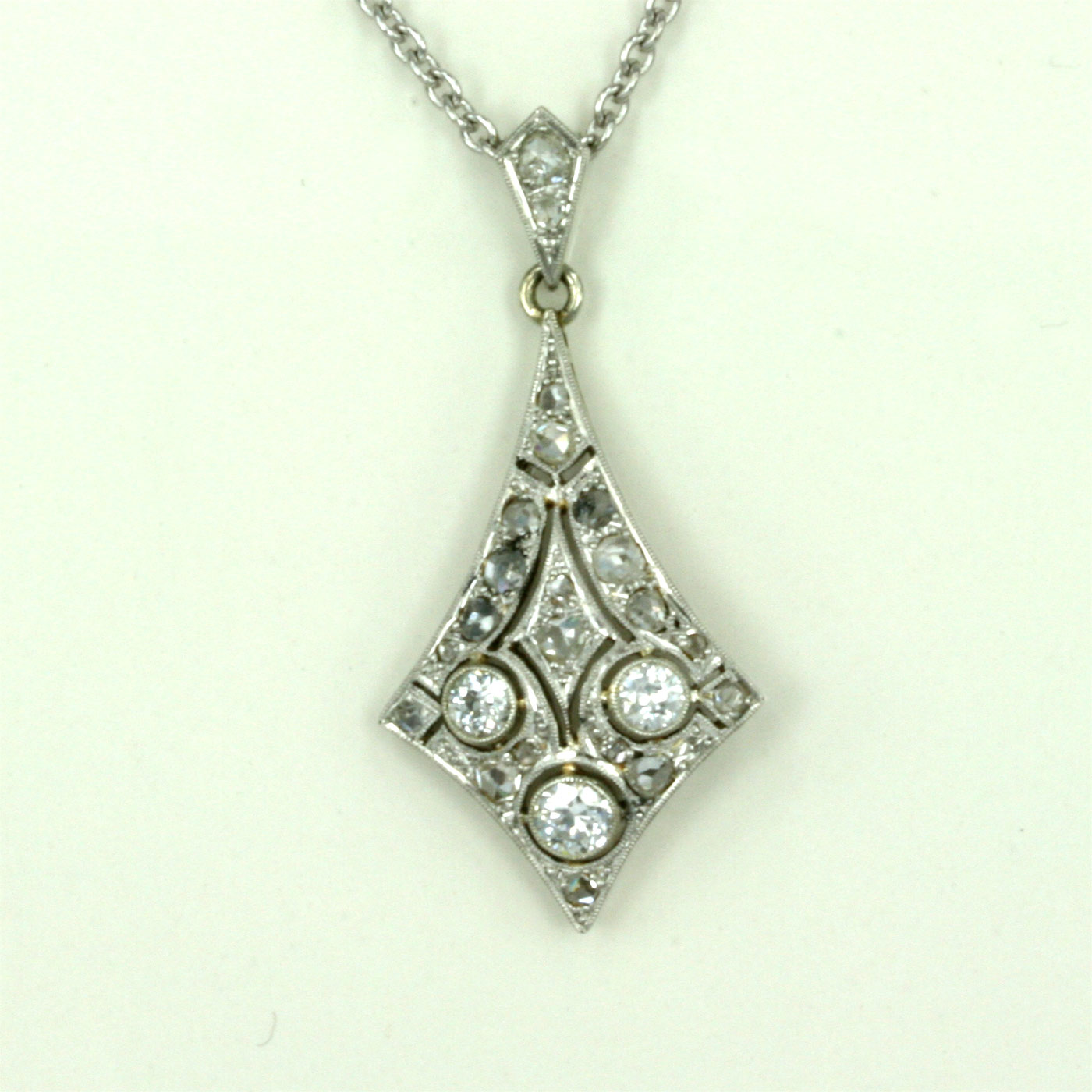 Buy art deco pendant with 24 diamonds sold items sold jewellery art deco pendant with 24 diamonds aloadofball Images