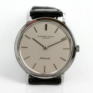 Automatic Audemars Piguet watch.