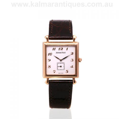 18ct gold manual wind Audemars Piguet wrist watch