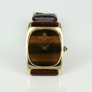 18ct Baume & Mercier watch