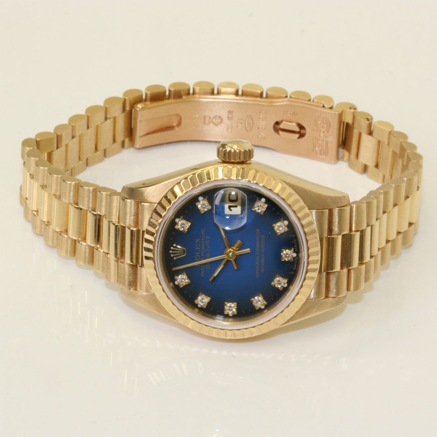 Buy Stunning Lady S President Rolex Watch Sold Items Sold