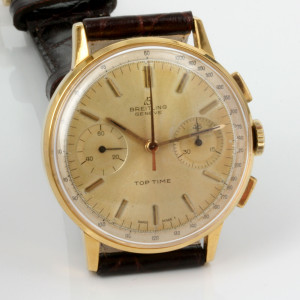 Vintage Breitling Top Time from 1965.