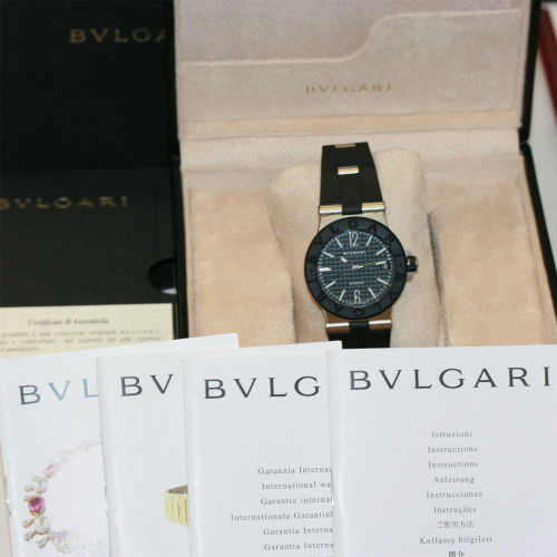 Gents Bulgari Diagono watch.