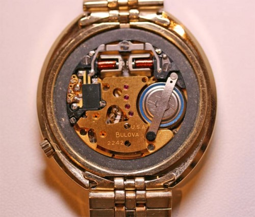 Bulova Accutron made in 1973
