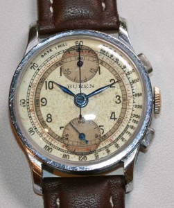 Buren chronograph wrist watch