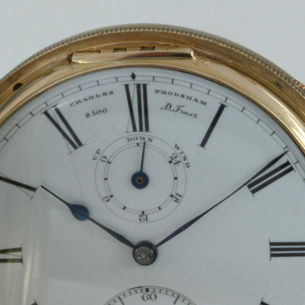 18ct Charles Frodsham pocket watch made in 1874