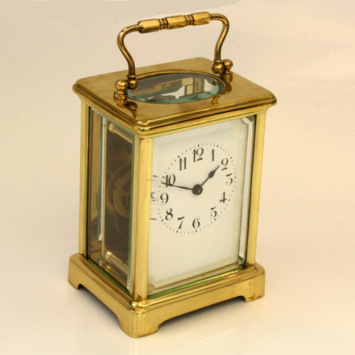 Antique carriage clock by Duverdy & Bloquel