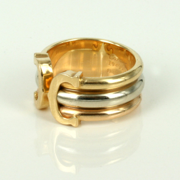 Cartier Double C Ring Price