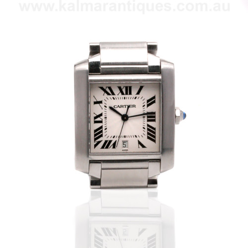 Automatic Cartier Tank Francais reference 2302