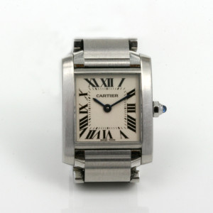 Ladies steel Cartier Tank Francais model 2384