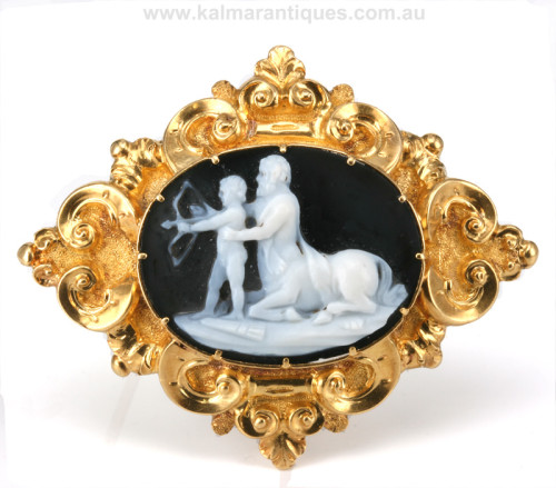 Achilles and centaur cameo