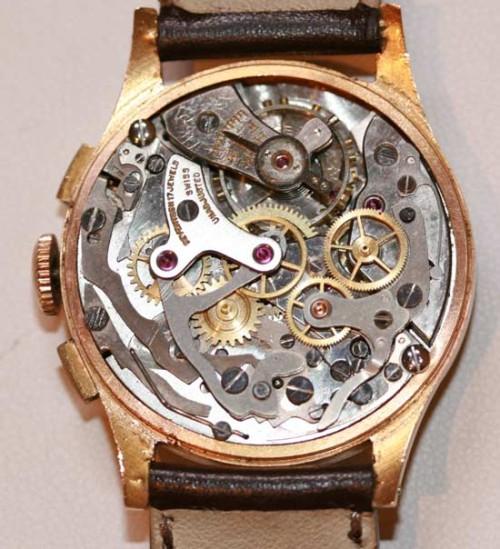 18ct chronograph wrist watch