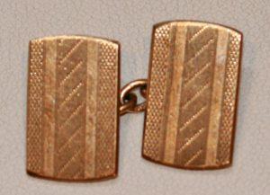 9ct cufflinks