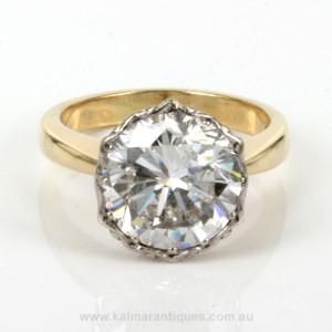5.38ct diamond engagement ring