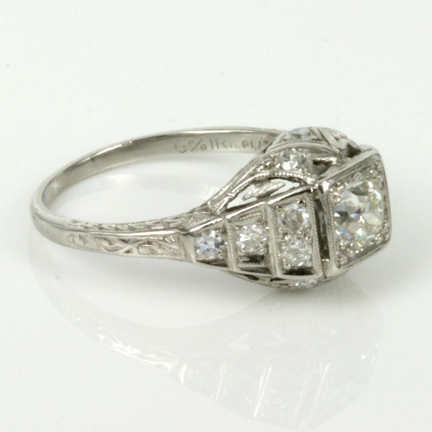 Art Deco Engagement Rings Sydney